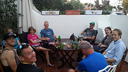 Itinerary After Ride Well-deserved Beers