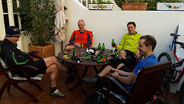 Itinerary After Ride Chilling with Beers