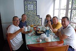 Why choose Sierra MTB freshly cooked breakfasts