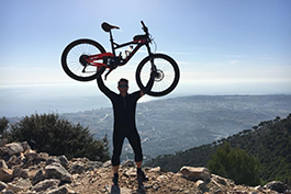 Why choose Sierra MTB amazing riding with spectacular views