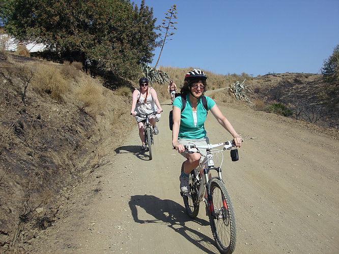 Garden Center leisurely dirt road ride