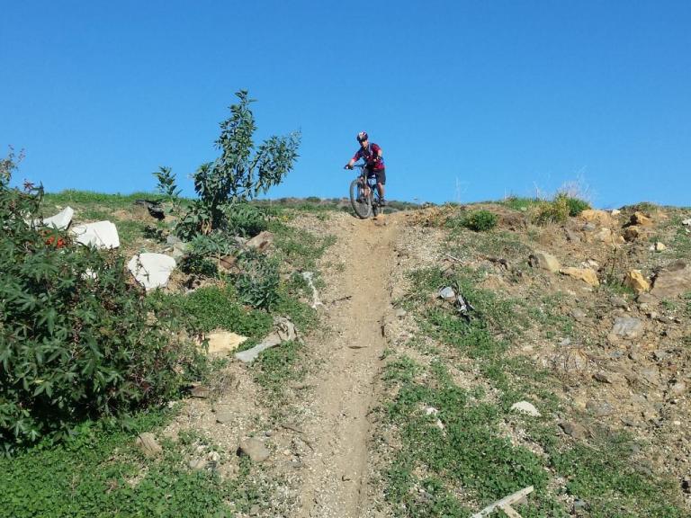 La Cala steep shoot