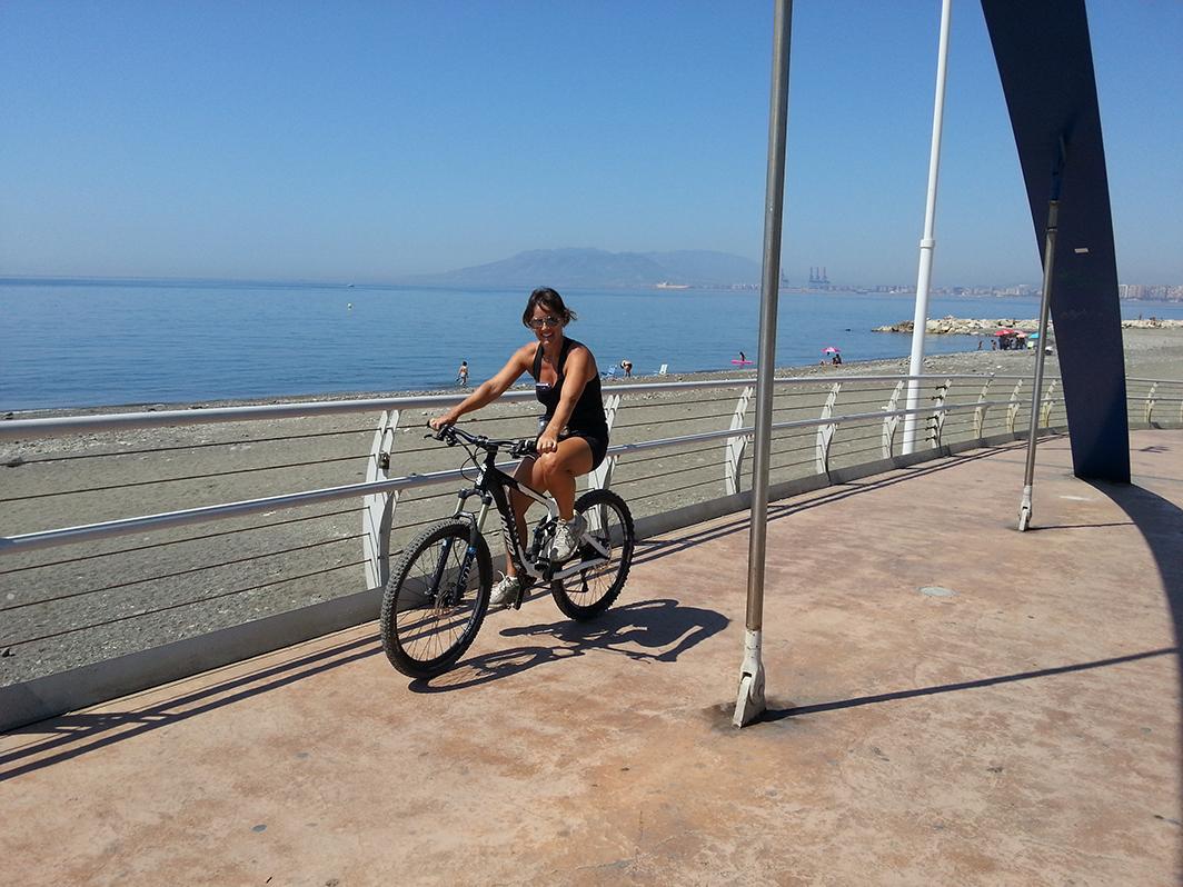 Malaga Seafront ride