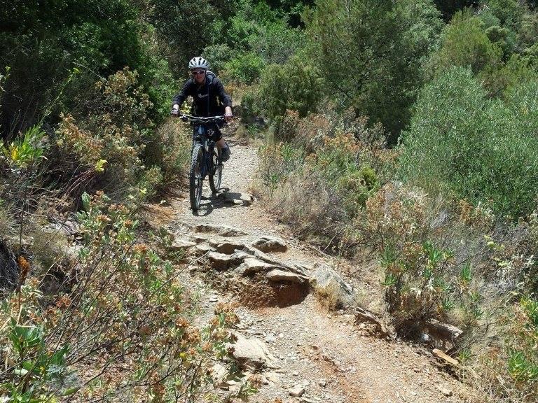 Montes de Malaga singletrack