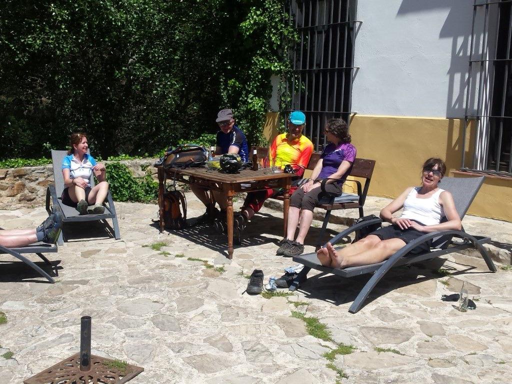 Montes de Malaga Hotel Humaina lunch stop