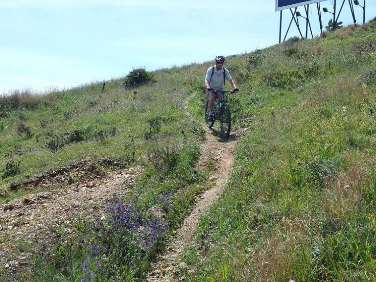 La Cala singletrack short descent