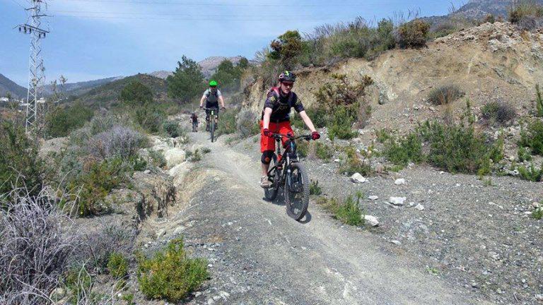 San Antón smooth fast flowy trail