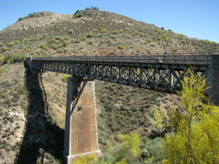 Via Verde del Aceite viaduct bridge