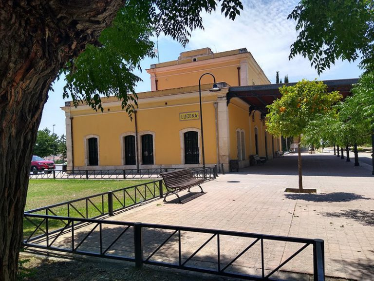 Via Verde del Aceite Lucena station in Cordoba