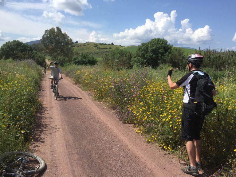White Village Tour of Andalucia group taking photos