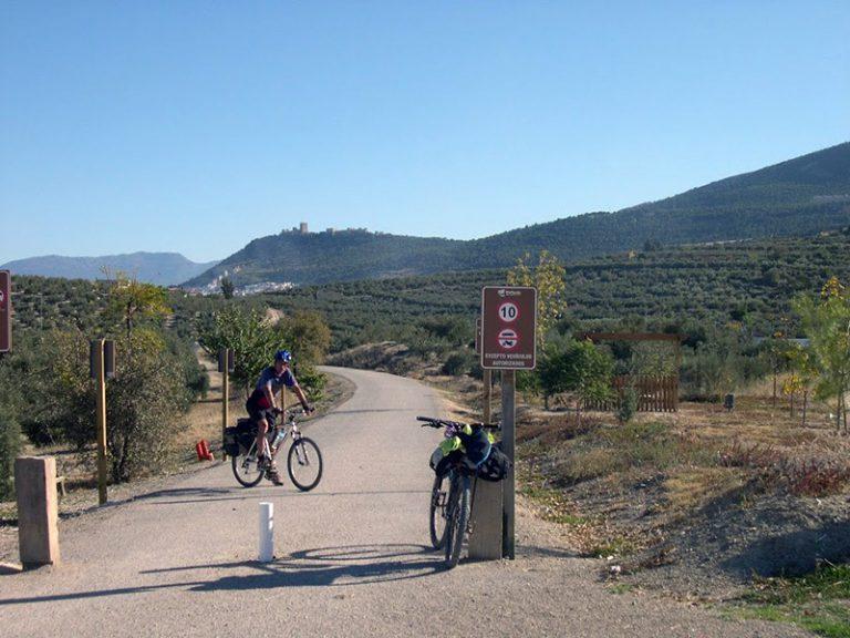 Via Verde del Aceite countryside back roads