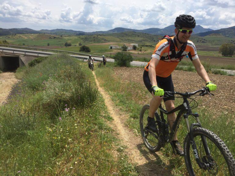 White Village Tour of Andalucia singletrack