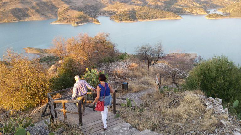 Zahara de la Sierra steps to castle