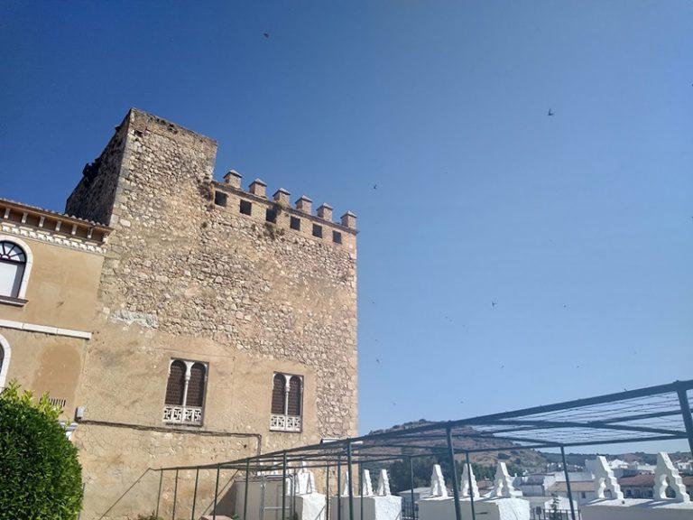 Via Verde del Aceite tower