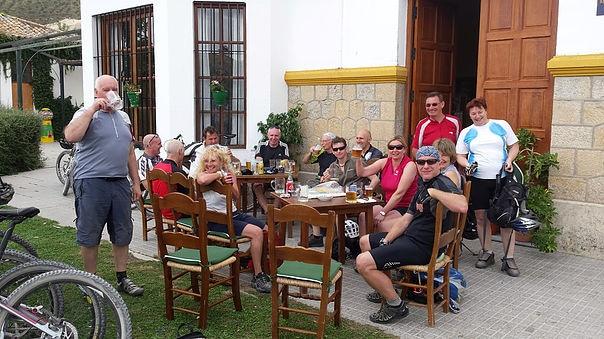 Via Verde de la Sierra beer break