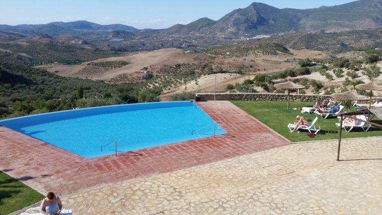 Zahara de la Sierra hotel los tadeos swimming pool