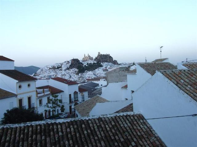 Via Verde de la Sierra white andalusian village