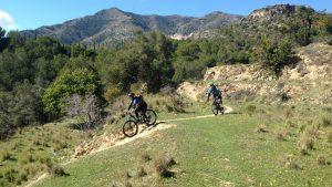 San Antón smooth descending trail