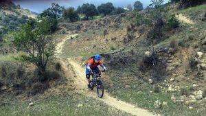 San Antón smooth dusty singletrack descent