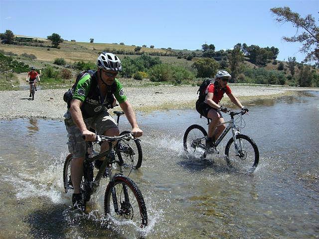 Rio Grande Riding across the river