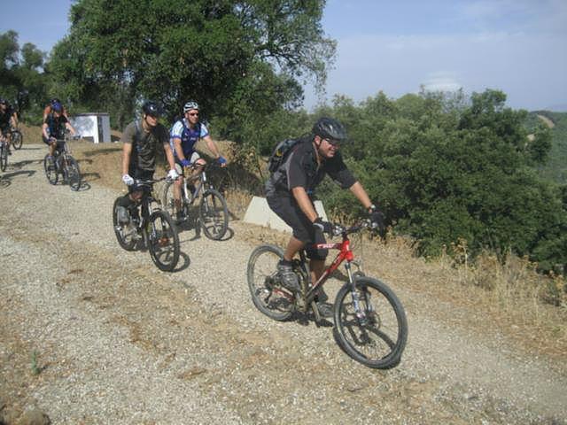 Rio Grande leisurely ride on dirt roads
