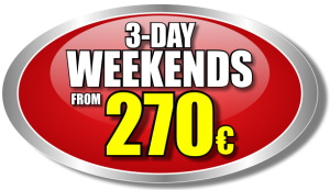 3-Day Weekend Special Offer