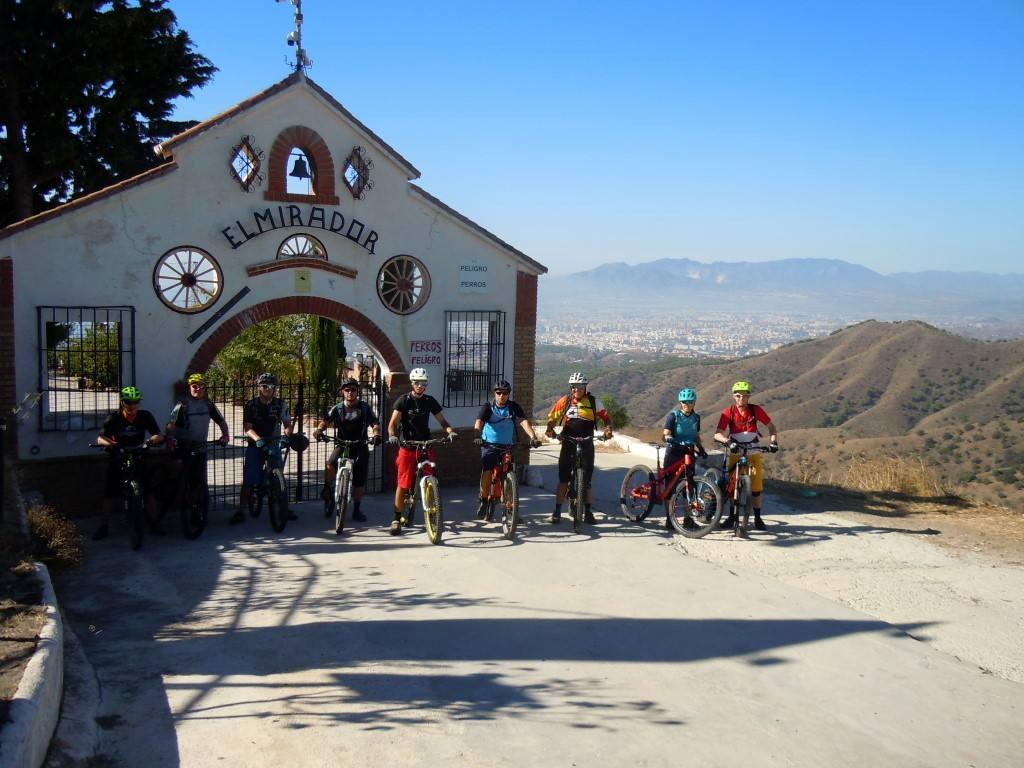 Malaga Bike Park The Mirador viewpoint