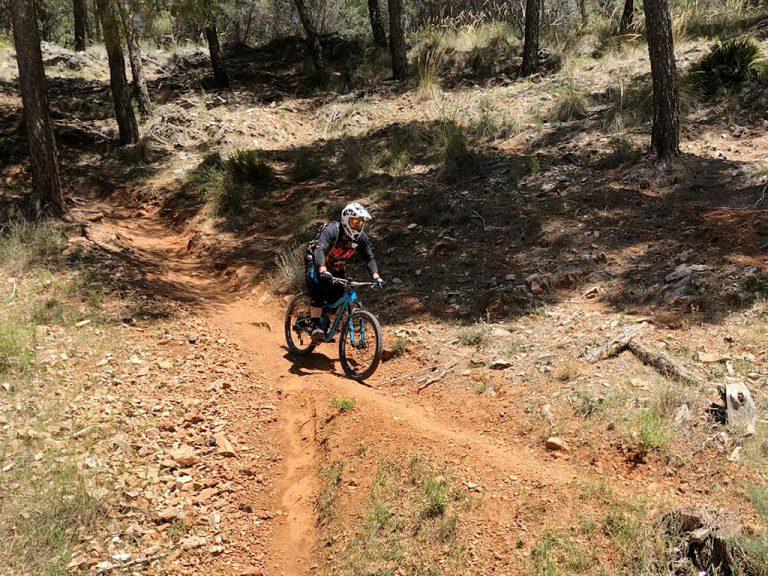 Alhaurin Woods steep shoot
