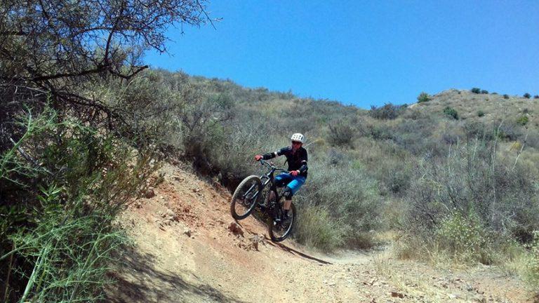 Valtocado trail riding berms round corners