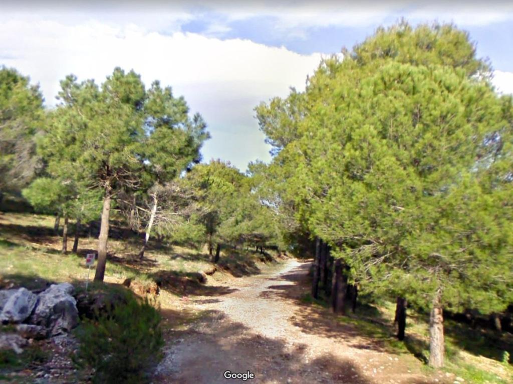 Barranco Blanco dirt road climb