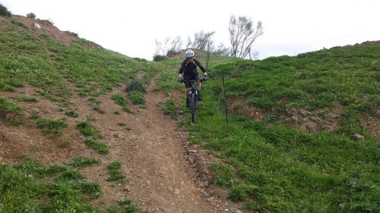 Valtocado steep rutty shoot