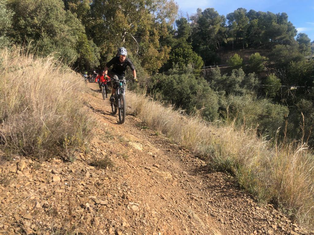 Malaga Bike Park The Green House trailhead