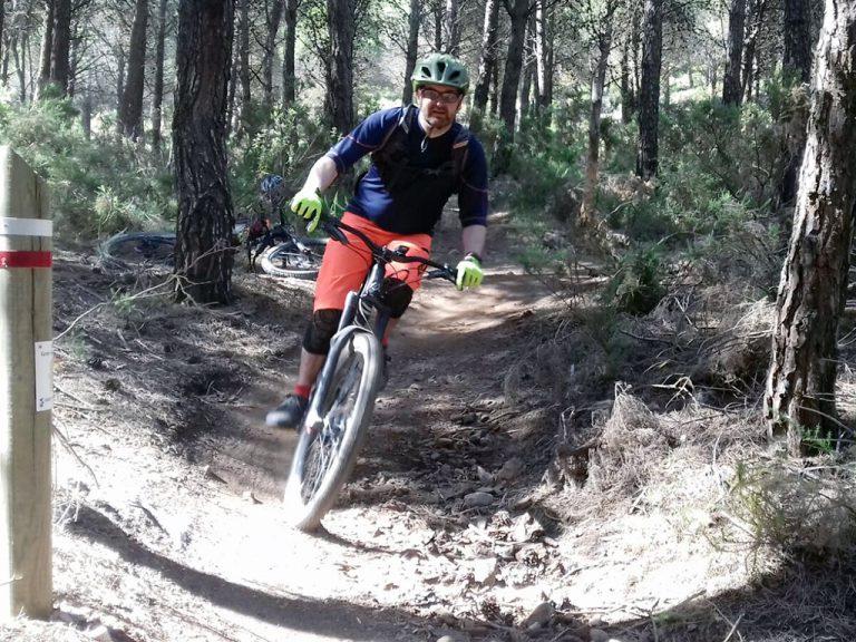 Alhaurin Woods flowy singletrack