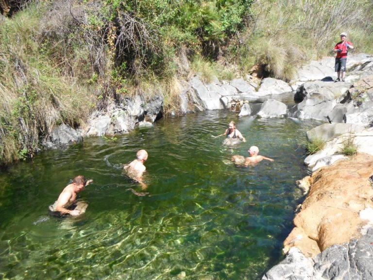 Roman Baths refreshing swim