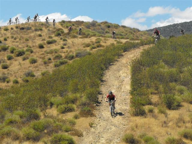 Mijas Down rutty trail descent