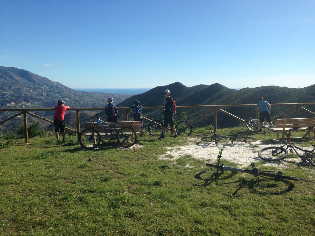 Barranco Blanco viewpoint