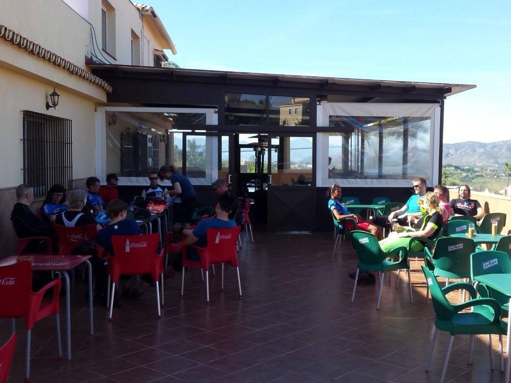 Three Amigos lunch stop at Venta Pedro Vazquez outside Alhaurin de la Torre