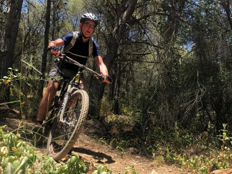 Malaga Bike Park Forest trail