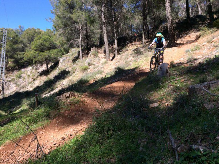 Alhaurin Woods descent