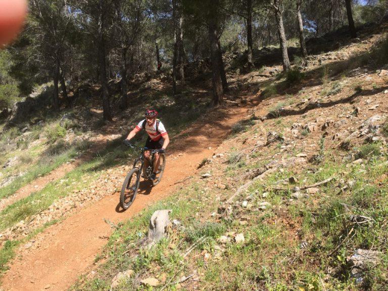 Alhaurin Woods smooth flowy trail
