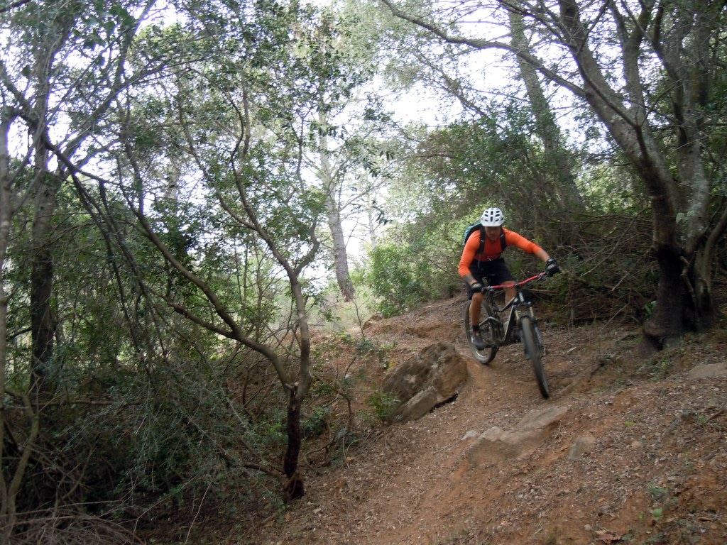Digglers steep section