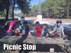 Sierra MTB Family ride Picnic stop Thumbnail