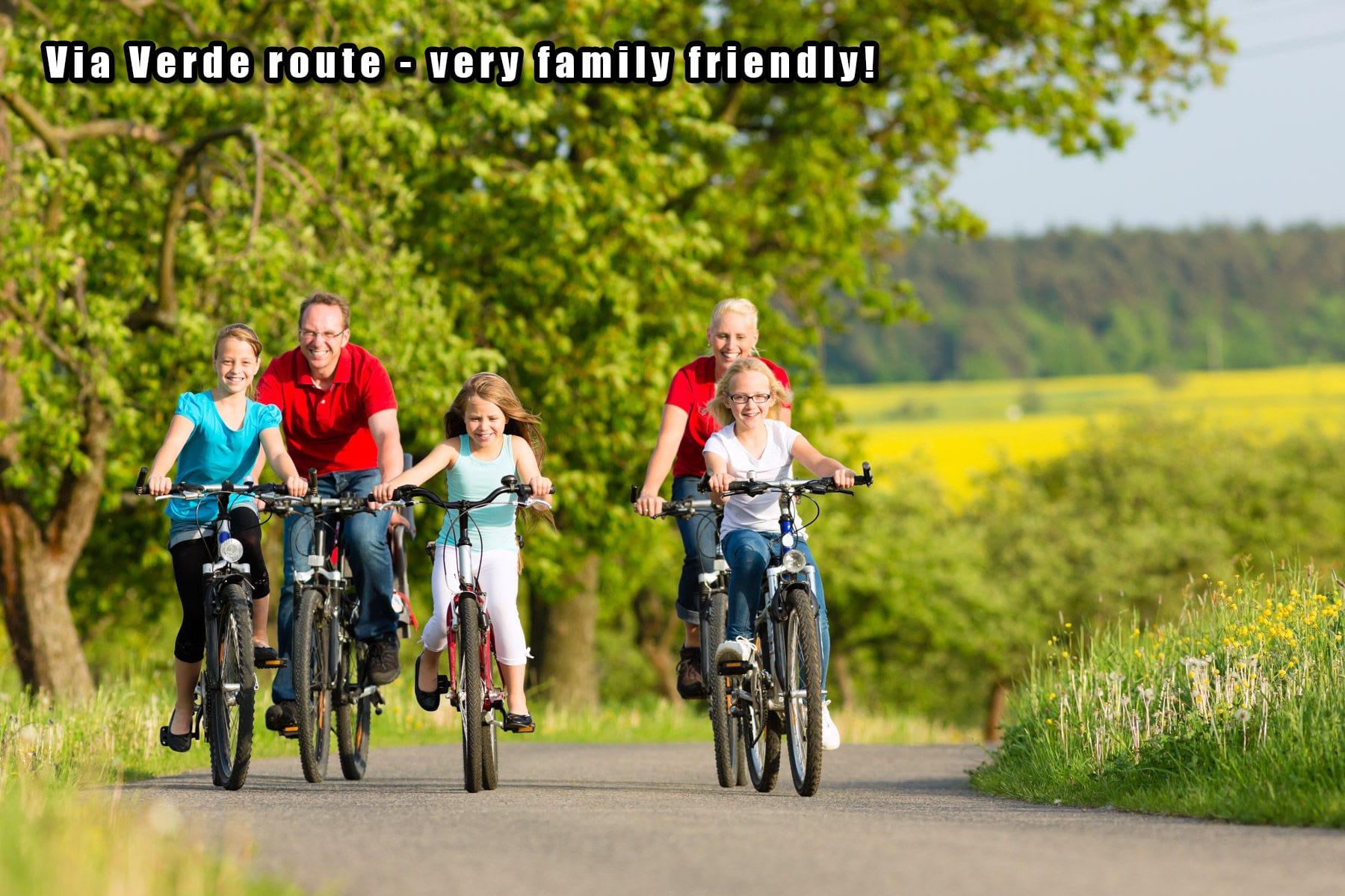 Sierra MTB Family friendly Via Verde route