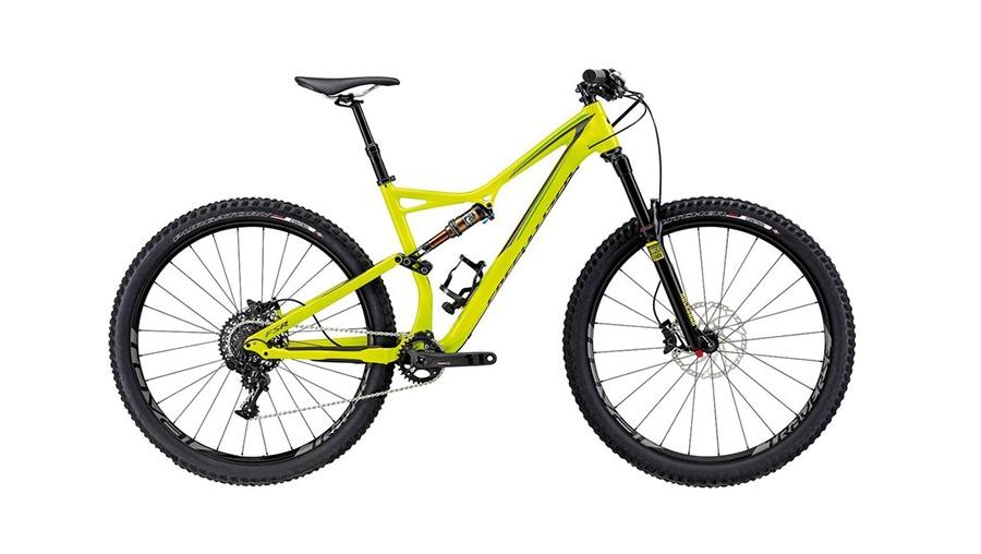 Specialized Stumpjumper FSR 2016 Yellow