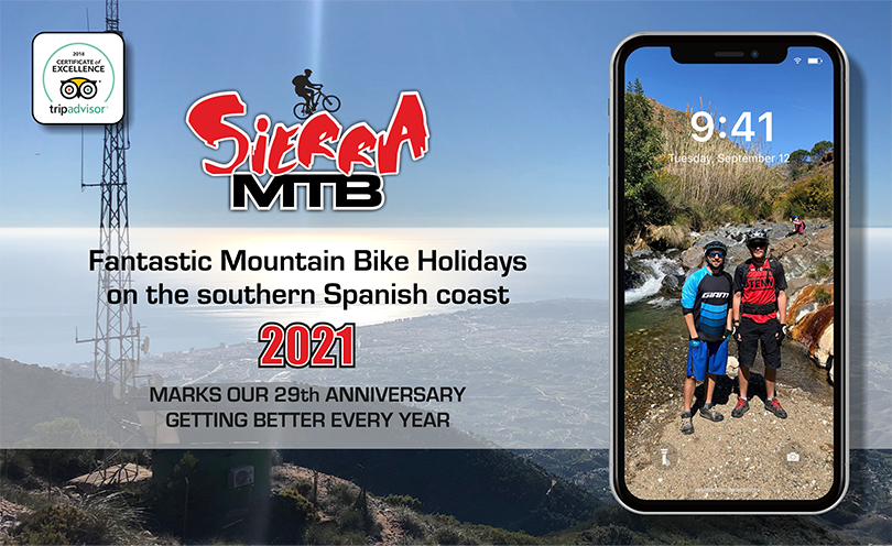 Sierra MTB contact page banner