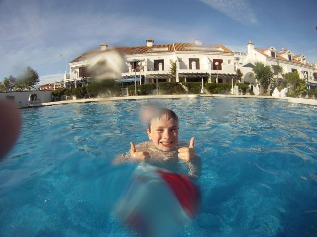 Pueblo Castillo swimming pool